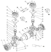 CAT-MP200 - Cylinder & Ring Kit