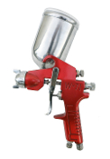 SPRAYIT SP-352 Gravity Spray Gun with Aluminum Swivel Cup